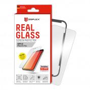 Displex Real Glass 10H Protector 2D - калено стъклено защитно покритие за дисплея на iPhone 11 Pro Max, iPhone XS Max (прозрачен)