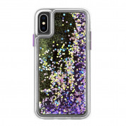 CaseMate Waterfall Case for Apple iPhone XS, iPhone X (purple)