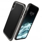 Spigen Neo Hybrid Case - хибриден кейс с висока степен на защита за iPhone XS Max (тъмносив)  5