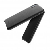 Mujjo Leather Case for iPhone XS Max (black) 1