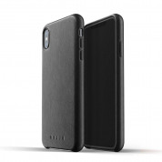 Mujjo Leather Case for iPhone XS Max (black)