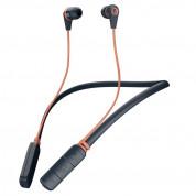 Skullcandy Inkd 2.0 Wireless - безжични слушалки с микрофон за смартфони и мобилни устройства (тъмносин)