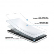 Eiger Tri Flex High Impact Film Screen Protector - качествено защитно покритие за дисплея на Samsung Galaxy A3 (2017) (два броя) 2