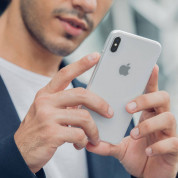 Moshi SuperSkin - тънък силиконов (TPU) калъф (0.35 mm) за iPhone XS Max (прозрачен) 4