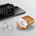 Prodigee Leather case Jack - кожен калъф (естествена кожа) за Apple Airpods (кафяв) 4