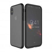 Prodigee Safetee Slim Case - хибриден кейс с висока степен на защита за iPhone XS, iPhone X (черен) 3