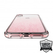 Prodigee SuperStar Case - хибриден кейс с висока степен на защита за iPhone XS, iPhone X (розов) 5