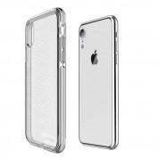 Prodigee Safetee Slim Case - хибриден кейс с висока степен на защита за iPhone XR (сребрист) 1