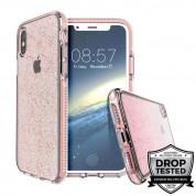 Prodigee SuperStar Case - хибриден кейс с висока степен на защита за iPhone XS Max (розов)
