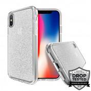 Prodigee SuperStar Case - хибриден кейс с висока степен на защита за iPhone XS Max (прозрачен)