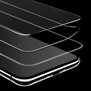 Verus First Glass Premium 3D Full Cover - калено стъклено защитно покритие за целия дисплей на iPhone XS, iPhone X (прозрачен-черен) 2