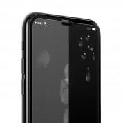 Verus First Glass Premium 3D Full Cover - калено стъклено защитно покритие за целия дисплей на iPhone XS Max (прозрачен-черен) 1
