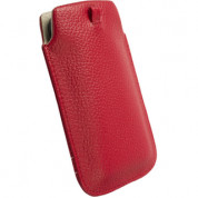 Krusell GAIA Mobile Pouch and mobile phones (red)  1