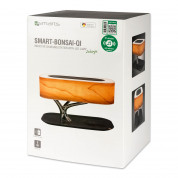 4smarts Inductive Charging Station Smart Bonsai QI B7 with BT Speaker and Lamp (black) 10