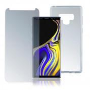 4smarts 360° Protection Set Case Friendly - хибриден кейс и стъклено покритие за Samsung Galaxy Note 9 (прозрачен)