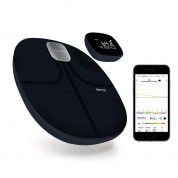 Terraillon Web Coach Easy View - безжичен кантар с приложение за iOS и Android (черен) 1