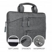 Satechi Fabric Carrying Case 13 (gray) 2