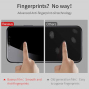 Baseus Glass Film Set(Front film+Back film)For iPhone XS, iPhone X (clear) 3