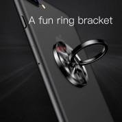 Baseus Wheel Ring Holder - поставка и аксесоар против изпускане на вашия смартфон (сив) 3
