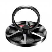 Baseus Wheel Ring Holder (black)