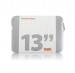 Trunk Laptop Sleeve - неопренов калъф за преносими компютри до 13.3 инча (сребрист) 1