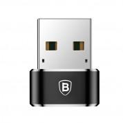 Baseus USB Male To USB-C Female Adapter - адаптер от USB мъжко към USB-C женско за мобилни устройства 1