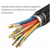 Baseus USB-C to HDMI Cable - кабел за свързване от USB-C към HDMI за устройства с USB-C порт (черен) 4