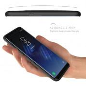 Evutec Aergo Ballistic Nylon - хибриден TPU калъф с магнитна поставка за Samsung Galaxy S8 Plus (черен) 3