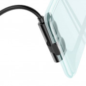 Baseus Suction Cup Lightning USB Cable - Lightning кабел за iPhone, iPad и iPod с Lightning (черен) 5