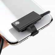 Baseus Suction Cup Lightning USB Cable - Lightning кабел за iPhone, iPad и iPod с Lightning (черен) 2