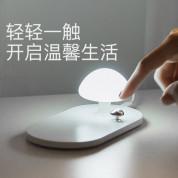Baseus Mushroom Lamp Desktop Wireless Charger - поставка (пад) за безжично захранване с Fast Charge за QI съвместими устройства и LED лампа (бял) 9