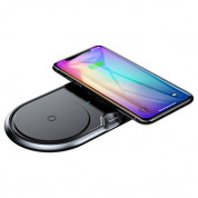 Baseus Dual Wireless Charger (black) 4