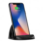 Baseus Horizontal Desktop Wireless Charger (black) 4