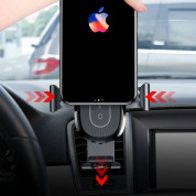 Baseus Heukji Wireless Charger Gravity Car Mount (black) 6