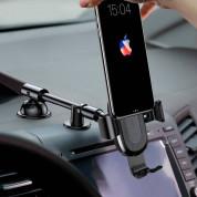 Baseus Heukji Wireless Charger Gravity Car Mount - поставка за таблото на кола с безжично зареждане за Qi съвместими смартфони (черен) 7