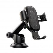 Baseus Osculum Type Wireless Gravity Car Mount (Black)
