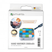 4smarts Hand Warmer 2000 mAh with flashlight (white) 5