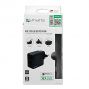 4smarts Travel Charger Set VoltPlug QC/PD 48W (black) 7