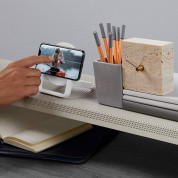 Belkin BOOST UP Wireless Charging Stand 10W - поставка (пад) за безжично захранване за  Apple, Samsung, LG, Sony и други QI съвместими устройства (бял) 7
