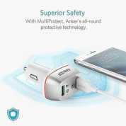 Anker PowerDrive+ 2 Ports Quick Charge 3.0 42W Dual USB Car Charger with PowerIQ (white) 2
