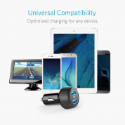 Anker PowerDrive Elite 2 with PowerIQ 24W Car Charger 2-Port 4.8A Ultra-Compact 4