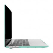 Artwizz Rubber Clip Case - качествен предпазен кейс за MacBook Pro 13 Touch Bar и без Touch Bar (2016 и по нов) (светлосин) 4