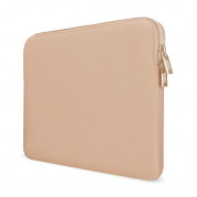 Artwizz Neoprene Sleeve - качествен неопренов калъф с цип за MacBook Pro 13 Touch Bar и без Touch Bar (2016 и по-нови) (златист) 3
