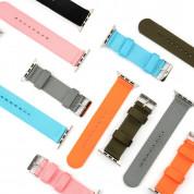 4smarts Fabric Wrist Band - текстилна каишка за Apple Watch 38мм, 40мм (светлосин) 1