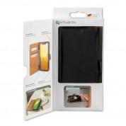 4smarts Premium Wallet Case URBAN - кожен калъф с поставка и отделение за кр. карта за Huawei Mate 20 Pro (черен) 3