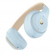 Beats Studio3 Wireless - професионални безжични слушалки с микрофон и управление на звука за iPhone, iPod и iPad (светлосин) 2