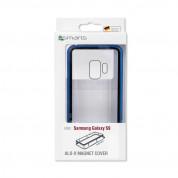 4smarts Magnet Cover ALO-X - алуминиев магнитен кейс за Samsung Galaxy S9 (син)  5