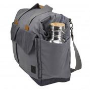 Case Logic Lodo Satchel Travel Bag LODB-115GRA - елегантна чанта с дръжки и презрамка за MacBook Pro 15 и лаптопи до 15.6 инча (зелен) 5
