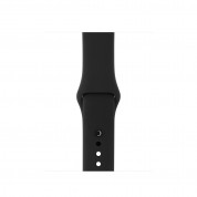 Apple Sport Band S/M - оригинална силиконова каишка за Apple Watch 42мм, 44мм (черен) (bulk) 3