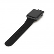 Apple Sport Band S/M - оригинална силиконова каишка за Apple Watch 42мм, 44мм (черен) (bulk) 1